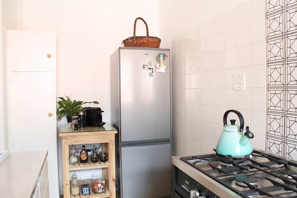 Our home in the cbd kitchen makeover studio melissa louise - Kitchen wow mini makeovers ...